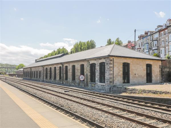 Duchess of Hamilton @ Engine Shed from Sykes Holiday Cottages