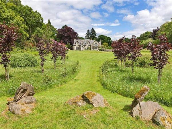 Dundarroch House in Brig o' Turk, near Callander, Perthshire
