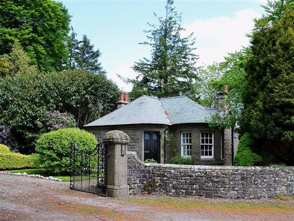 Dunlappie Lodge in Angus