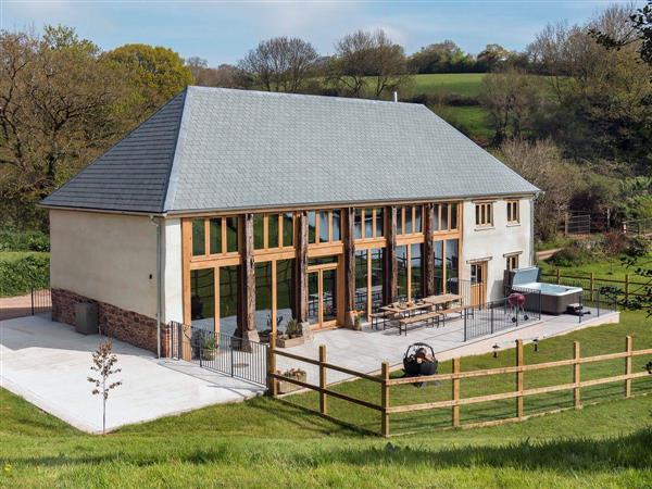 The Linhay at East Dunster Deer Farm in Cadeleigh, near Tiverton