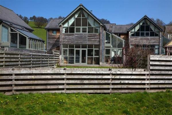 Eco House in Powys