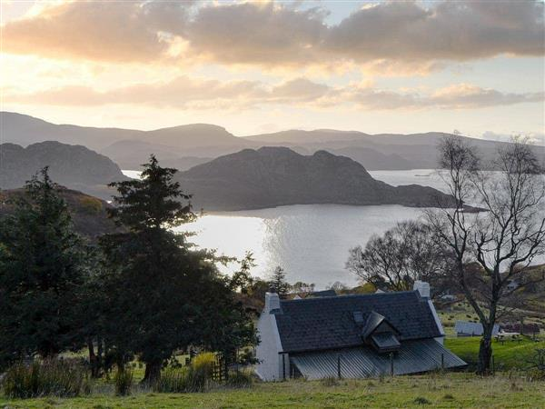 Eleven Diabaig Cottage in Ross-Shire