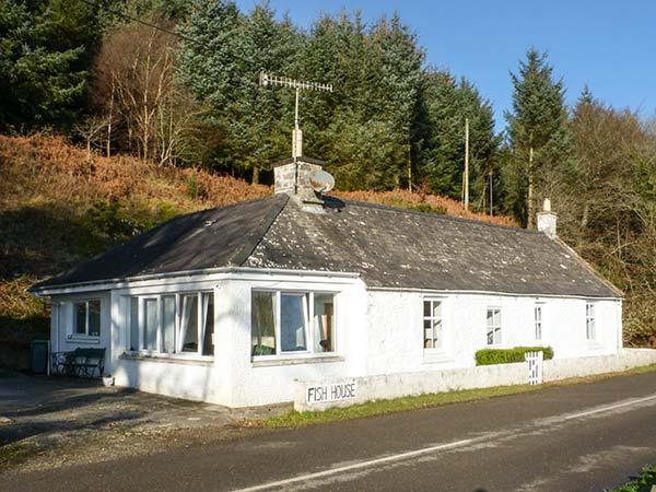 Fish House in Kirkcudbrightshire