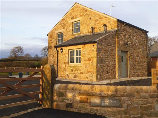 Five Barred Gate Barn in Lancashire