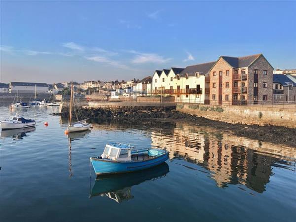 Freemans Wharf in Plymouth, Devon