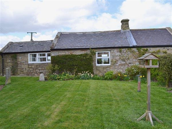 Garden Cottage in Northumberland