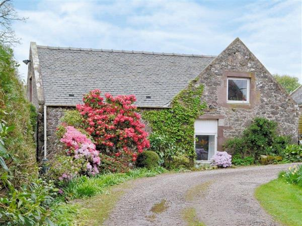 Garden Cottage Fairlaw in Berwickshire
