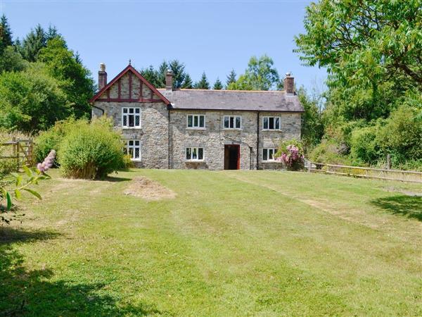 Garden Cottage in Dyfed