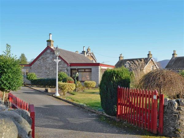 Garry Cottage in Perthshire