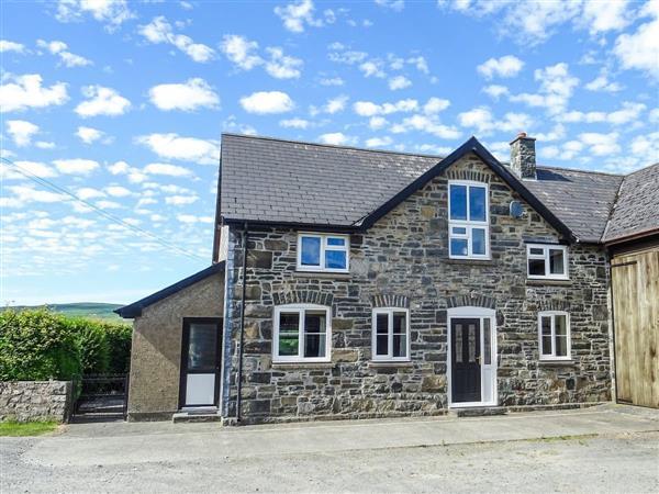 Glan Wye in Powys