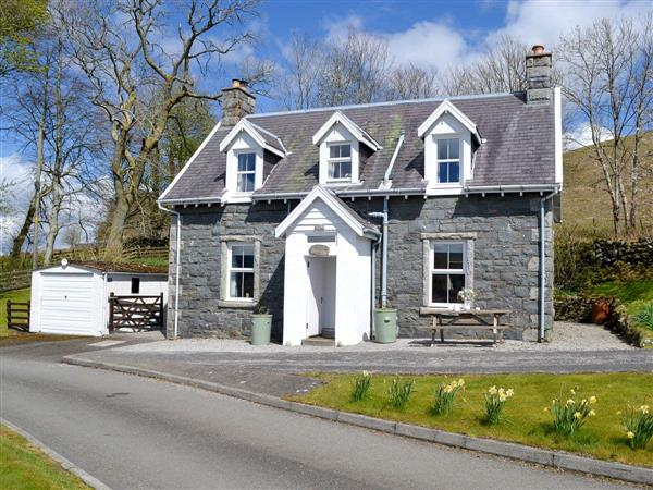 Glenhowl Lodge in Kirkcudbrightshire