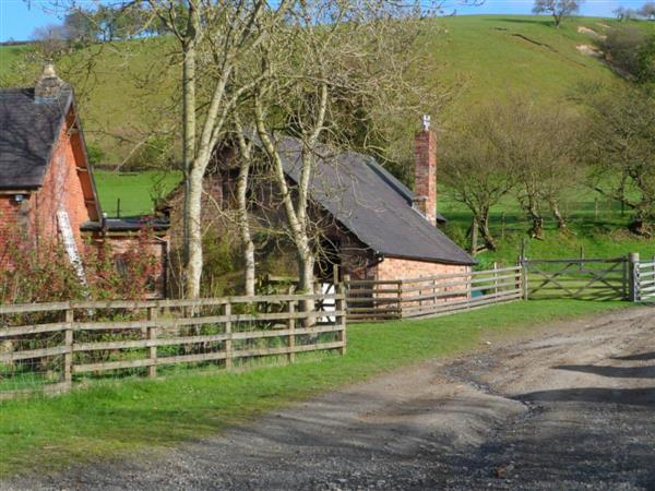 Great Cantal Granary in Powys