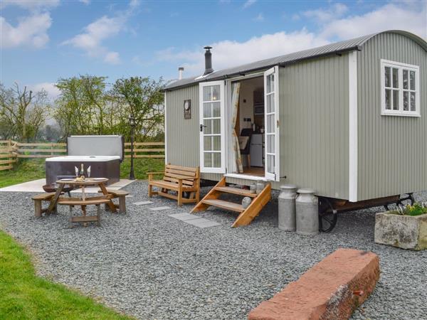 Greengill - Greengill Farm Shepherds Hut in Cumbria