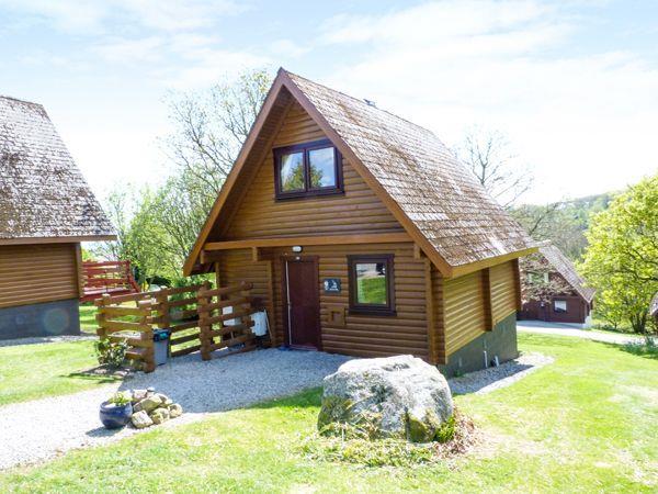 Heron Lodge in Kirkcudbrightshire