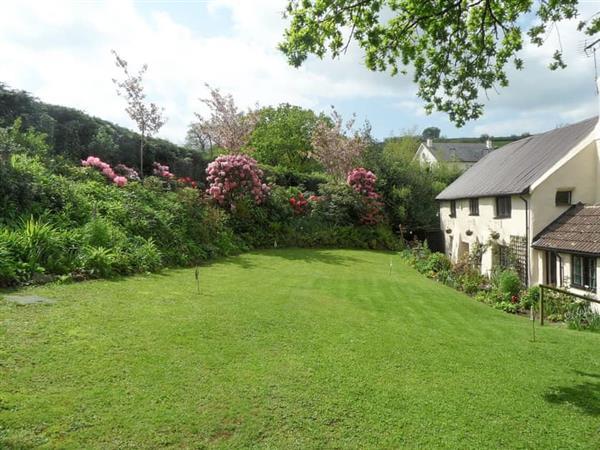 Higher Coombe Cottage in Devon