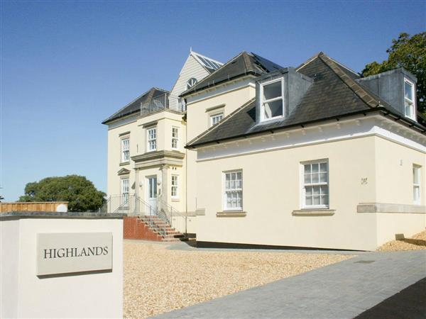Highlands Apartment 1 in Isle of Wight