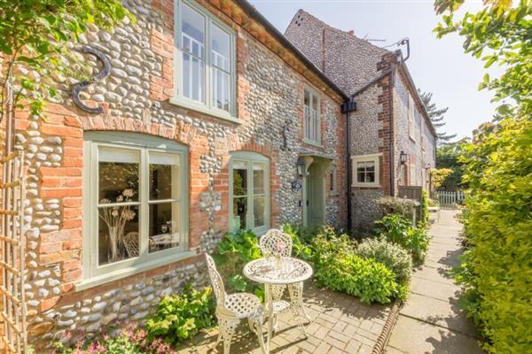 Hollyhock Cottage in Norfolk