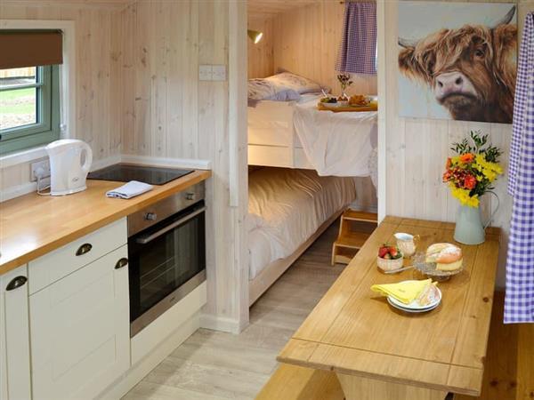 Honeysuckle Holidays - Hut 2 in Monk Soham, near Woodbridge, Suffolk