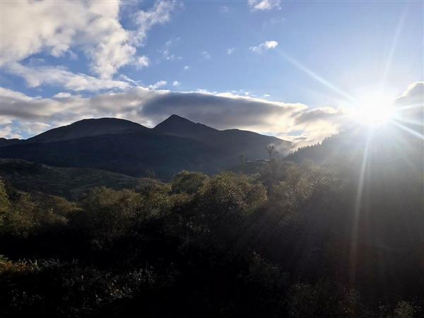 Ichrachan House - Mountain View Lodge 2 in Taynuilt, Argyll