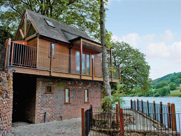 Inglenook Boathouse in Staffordshire