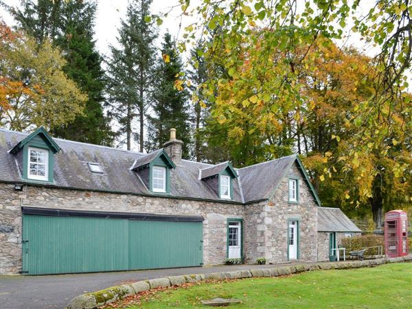 Inverchroskie Cottage in Perthshire