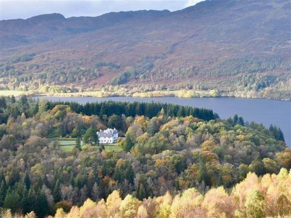 Invertrossachs Country House - The Rob Roy Apartment in Perthshire