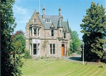 Isla Bank House in Banffshire