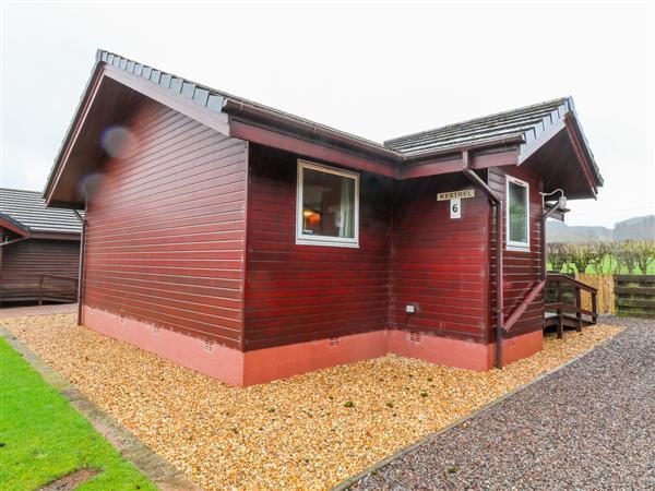 Kestrel Lodge in Dumfriesshire