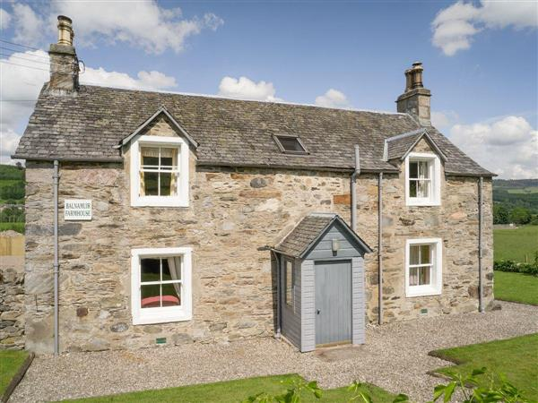 Kinnaird Estate Cottages - Balnamuir Farmhouse in Perthshire