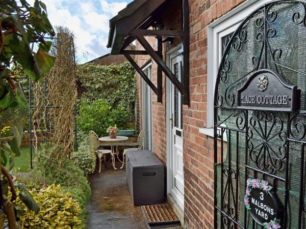 Lace Cottage in Ashbourne, Derbyshire
