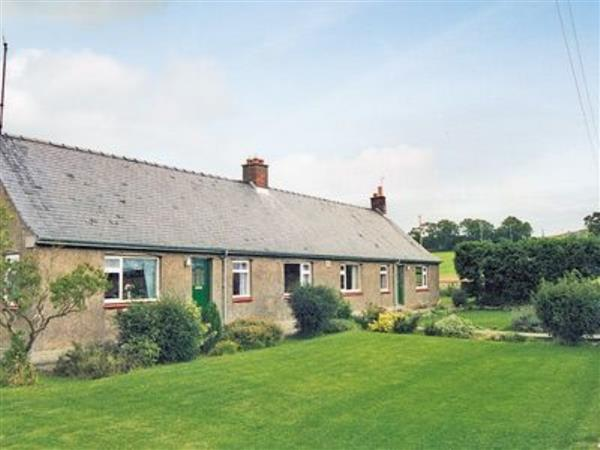 Lapwing Cottage in Northumberland