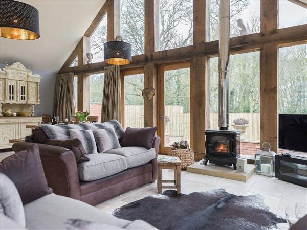 Lily Pad Lodge in Lincolnshire