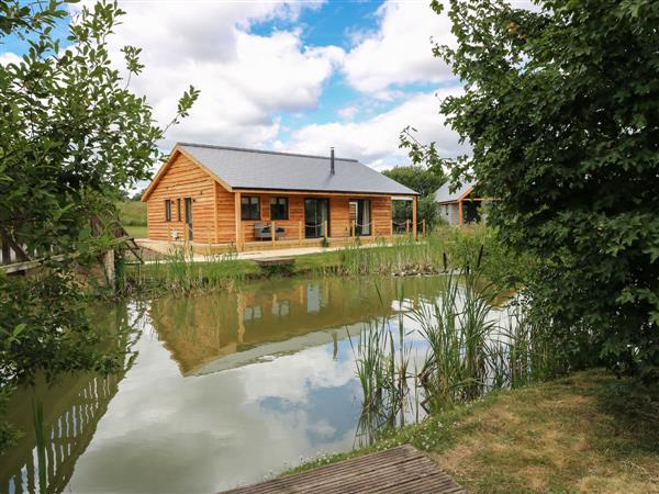 Lily-pad Lodge in Lincolnshire