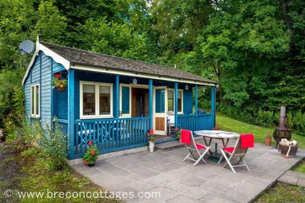 Little Cedars Pavilion in Powys