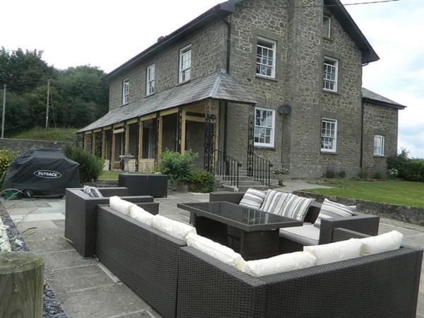 Llansantffraed House in Hundred House, near Llandrindod Wells, Powys