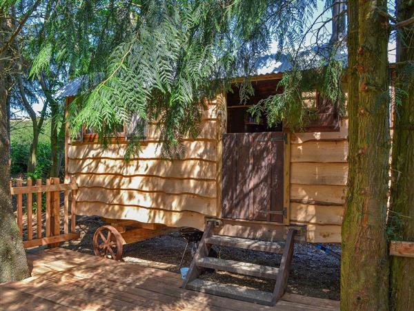 Llethrau Estate - Cowboy Hut in Powys