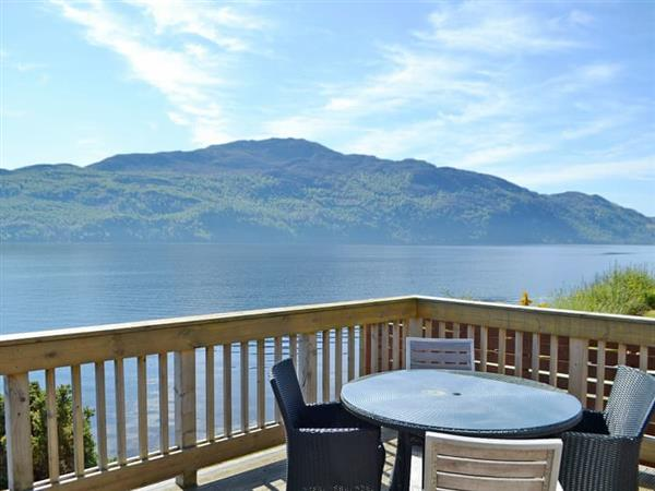 Loch Ness Lodges - Lodge 22 in Inverness-Shire