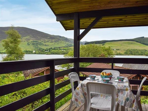 Lochearn View Lodge in Perthshire