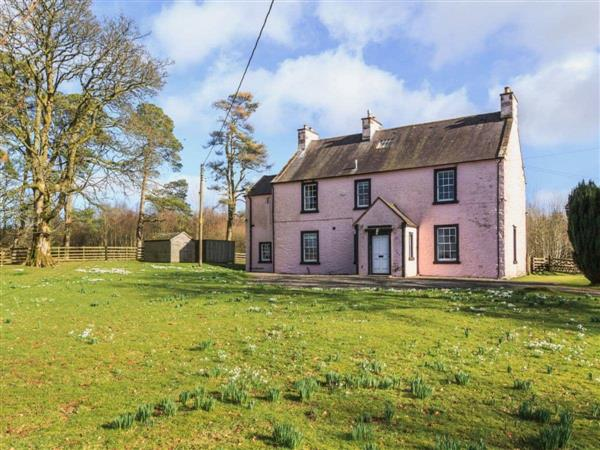 Lochenkit Farmhouse in Kirkcudbrightshire