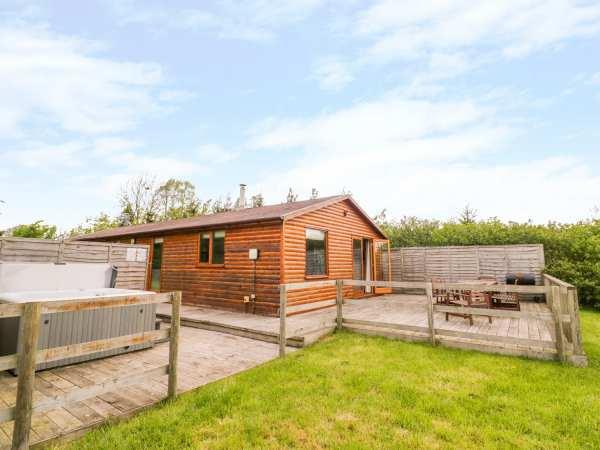 Log Cabin at Furlongs Farm in Worcestershire