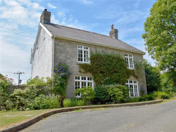 Lordship Farmhouse in Dyfed