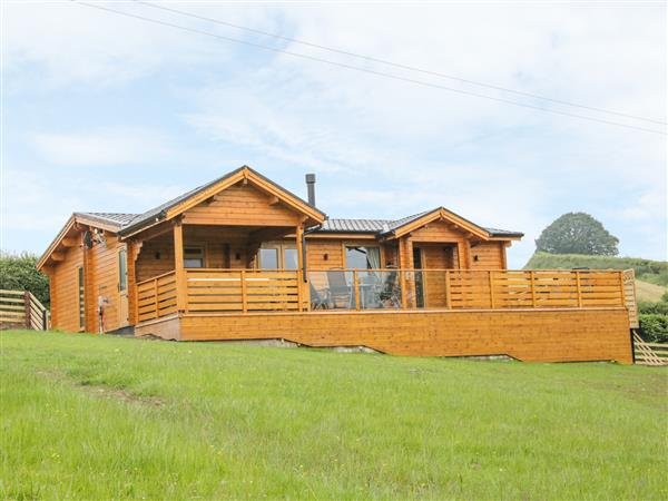 Manor Farm Lodges - Dragon Lodge in Powys