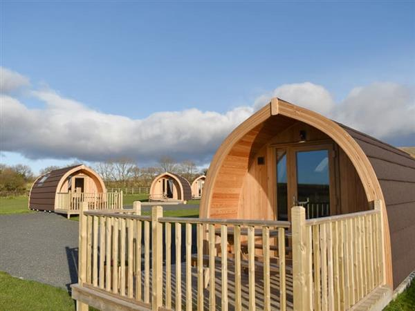 Moorside Glamping Pods - Manx View in Cumbria