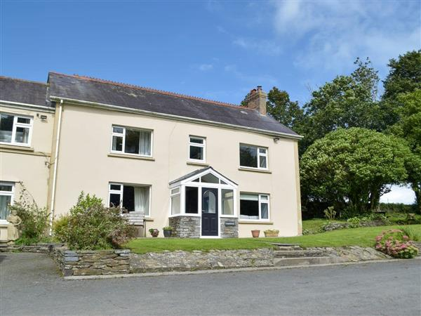 Morlogws Farm Holiday Cottages - The Farmhouse from Cottages 4 You