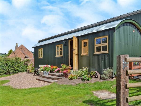 Morrells Wood Farm - Shepherds Lodge, Shropshire