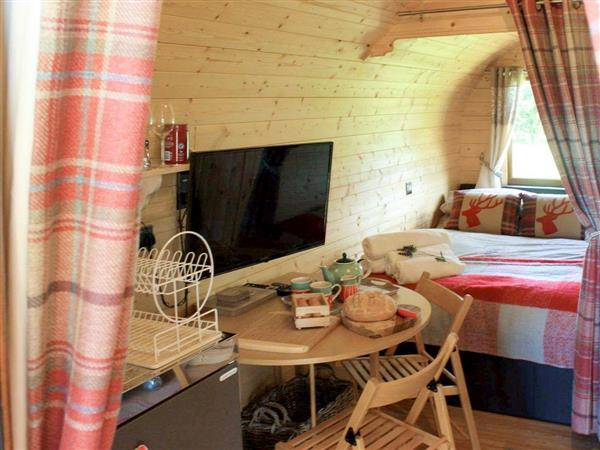 Mountain View Glamping Pod in Powys