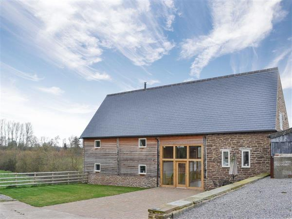 New House Farm Barn in Herefordshire