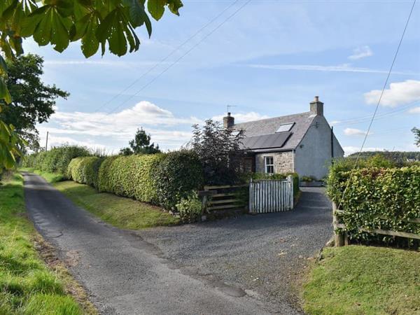 Newbigging Croft in Oxnam, near Jedburgh, Roxburghshire