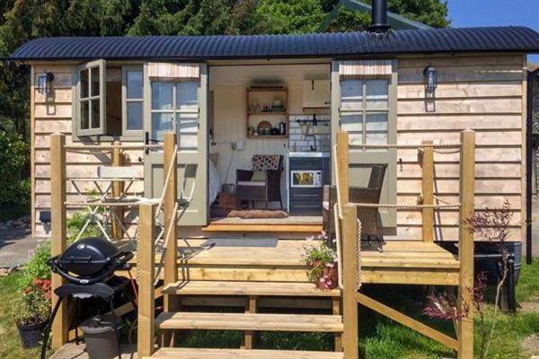 Noddfa Shepherds Hut in Powys