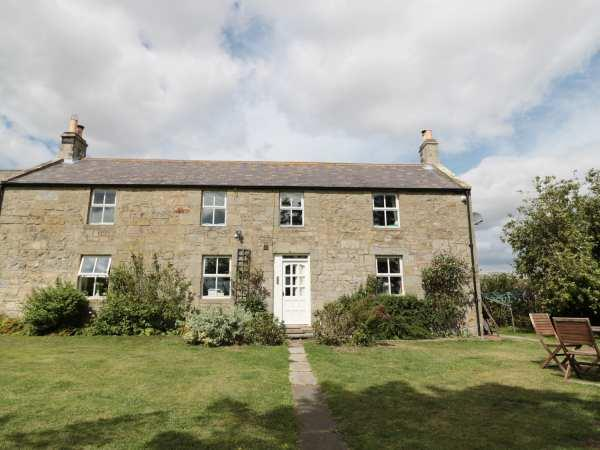 North Field Farmhouse in Northumberland
